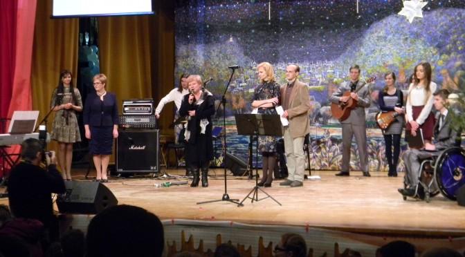 Świąteczny Dobroczynny Wieczór Kolędowy na rzecz Centrum Dziennego Pobytu Osób Niepełnosprawnych w Niemenczynie, 2014 rok