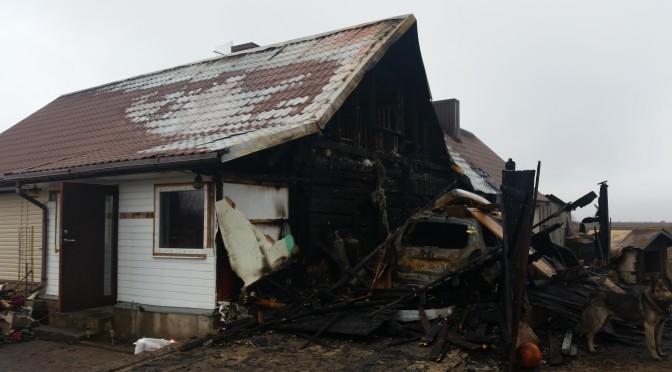 Pożar w Stankuciszkach (rej. wileński)