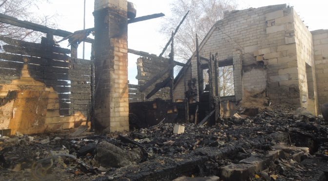 Rodzina rolników prosi o pomoc w odbudowaniu domu po pożarze!